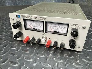 Hewlett Packard HP 6205B Dual DC Power Supply 0-40V. .3A / 0-20V. .6A