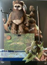 Hot Toys Star Wars ROTJ Wicket EWOK Endor MMS551 & Base loose 1/6th scale