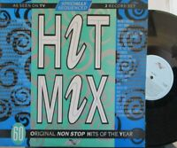 HIT MIX 60 Non Stop Hits Specially Sequenced ~ Various ~ GATEFOLD 2 x VINYL LP
