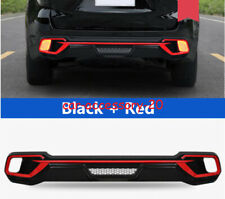 Red Rear Bumper Diffuser Lip Spoiler Guard Cover For Toyota Highlander 2017-2019