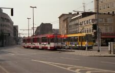PHOTO  GERMANY MÜLHEIM 1991 TRAM MÜ-STADTMITTE 1008 PLUS 271