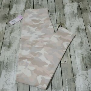 Soft White / Pink Camo Leggings - Women Size Small - Wild Fable - New With Tags