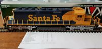 37-6616 DCC SOUND KATO HO GAUGE SD40-2 LOCO AT&SF #5072 UK SELLER NO IMPORT DUTY