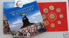 2015 Belgio 9 monete 3,88 + 2,5 EURO Waterloo Belgium Belgica belgique Бельгия
