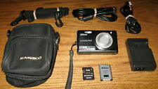 Nikon Coolpix S560 10.0 MP 5.0x Optical Zoom Lens Black UVGC Guarantee Bundled