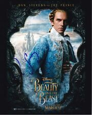DAN STEVENS signed autographed DISNEY BEAUTY AND THE BEAST photo