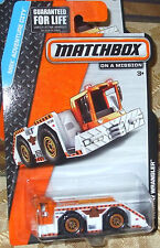 2015 Matchbox MBX Adventure City #7-120 Runway Wrangler 4+ Diecast Boys & Girls