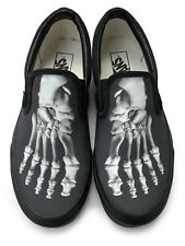 Skeleton Feet Slip-on Vans Brand Shoes