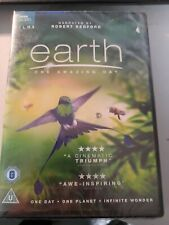 BBC EARTH: EARTH - ONE AMAZING DAY (DVD) NEW AND SEALED