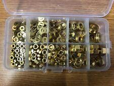 250No, M3 - M8, Brass, Washer / Nut Assortment.