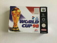 N64 NINTENDO 64 FRANCE WORLD CUP 98 fifa  PAL  MULTILANGUAGE BOX NEW IN BOX NIB