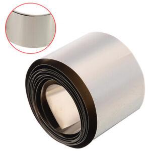 High Purity 99.96% Pure Nickel Ni Metal Foil Thin Sheet 0.1mm x 30mmx1000mm