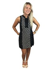 LADIES POLKA DOT EX FAMOUS STORES LONG TOP SLEEVELESS SUMMER DRESS