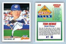 Tom Henke - #439 Score 1992 Baseball All Star Trading Card