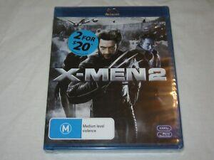 X-Men 2 - Brand New & Sealed - Region B - Blu Ray