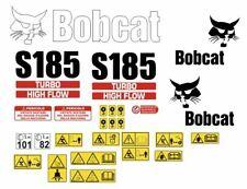 Bobcat S185 decalcomanie adesive kit Completo