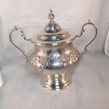 Gorham Victorian Chased Sugar Bowl Sterling Silver 13.25 Troy Oz