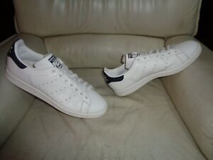 """Adidas Stan Smith """" Blue """" Used - Sneakers T. 45 Occasion - US 11 / UK 10,5 #2"""