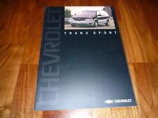Chevrolet Trans Sport Prospekt 2002