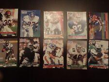 NFL Pro Set 1991 Lot of 31 Football Trading Cards woods lofton