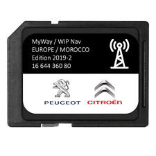 Version 2019/2020 - Carte SD GPS Europe + Maroc - RNEG 2019-2 Peugeot Citroen