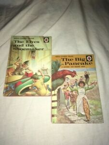 2 ladybird books / The elves and the shoemaker /  the big pancake