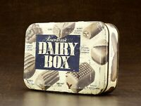 Vintage Rowntree's Dairy Box Tin York England Adv. Candy Chocolate Sweets Empty