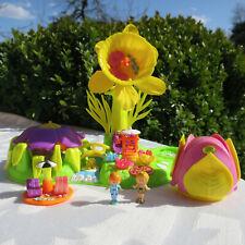 Mini Polly Pocket Blumenhaus Püppchen Sommersprossen Village Totally Flowers