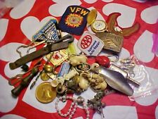 Another Big Bag Of Junk Items -Jewelry-Coins-Watch & Other Vintage Items * 2 Lb.