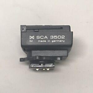 Metz SCA 3502 Flash Adapter for Leica M5 M6 TTL M7 R8 R9 CM Digilux 2 Cameras