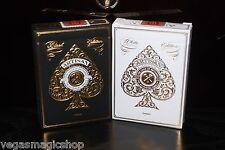 Artisan Black & White 2 Deck Set Playing Cards Poker Size Theory 11 USPCC Sealed