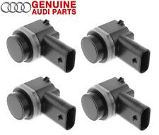 New Set of 4 Rear Parking Aid Sensors Genuine For Audi A6 Quattro Q7 R8