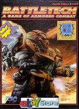 BATTLETECH A Game Of Armored Combat 4th Edition FASA No 1604 new NUOVO