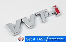 VVT-i For Toyota Chrome Badge Emblem Logo Sticker Corolla Yaris Avensis TS T2