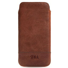 SENA Bence iPhone XS 10S UltraSlim Genuine X Pelle Custodia WALLET