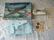 Airfix 1/72 Model Aircraft kit, Supermarine Spitfire Mk1, Series 1, unmade