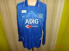 "Hamburger SV Nike Langarm Spieler Rohling Trikot 2003/04 ""ADIG INVESTMENT"" Gr.XL"