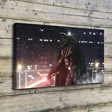 SR10470-Star Wars Darth Vader Poster Home Decor HD Canvas Print Wall Art Picture