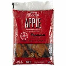 Apple Wood Pellets Bag 20 lb. Bbq Grill Dry Smoker Cooking Smoking Burning New