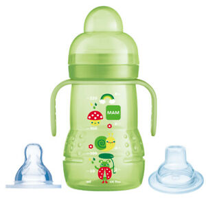 MAM Trainer Cup 2 in 1  220ml Green