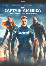 CAPTAIN AMERICA: THE WINTER SOLDIER (DVD, 2014) - BRAND NEW DVD