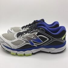 New Balance 860 V6 Stability Road Running Shoes Blue Green White Size 9 M860MI6