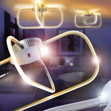 LED Lámpara de techo moderno luces forma cuadrada metal salón dormitorio pasillo