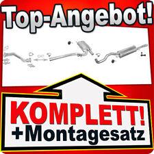 Auspuff AUDI A4 (B5) 1.8 125PS Stufenheck / Kombi Avant +Rohr Auspuffanlage A77