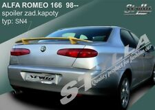 SPOILER REAR BOOT ALFA ROMEO 166 WING ACCESSORIES 2 types