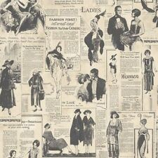 Galerie Memories 2 G56121 Old Adverts Newspaper Feature Wallpaper