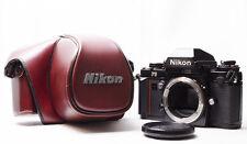 [Exc++++] Nikon F3 Eye Level 35mm SLR Film Camera Body w/Case CF-22 from Japan