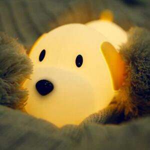 Maxi the Dog Silicone Nursery Night Light, Rechargeable +++Free Shipping