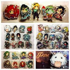 League Of Legends Champion Keychains Wooden Can Choose (US Seller)