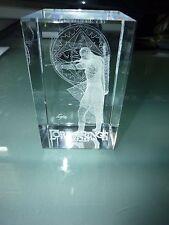 Lord of the Rings Legolas LOTR Elf Crystal Glass Laser MIB Clarisso Cube 3D